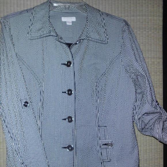7bdb15ad8173c Charter Club Cotton Seersucker Short Jacket Pl